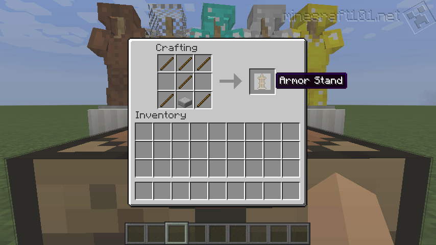 "Now that Mojang have gone and spelled ""Armor Stand"" the American ..."