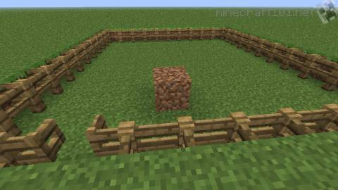 Cow Pen Minecraft Minecraft Cow Breeding Pen