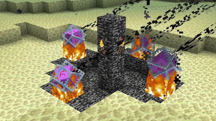 Как сделать в майнкрафт портал к дракону 130