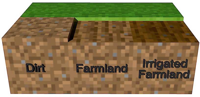 Growing Crops Minecraft 101