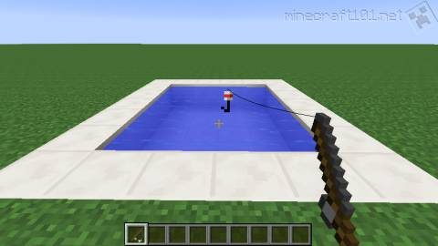 Fishing in Minecraft