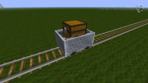 minecart with chest or storage minecart