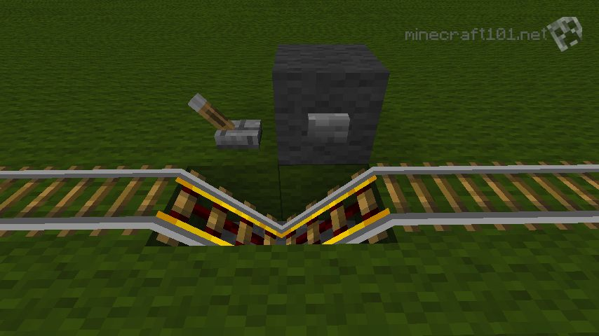 How to make a activator rail | minecraft 1. 7. 9 tutorial youtube.