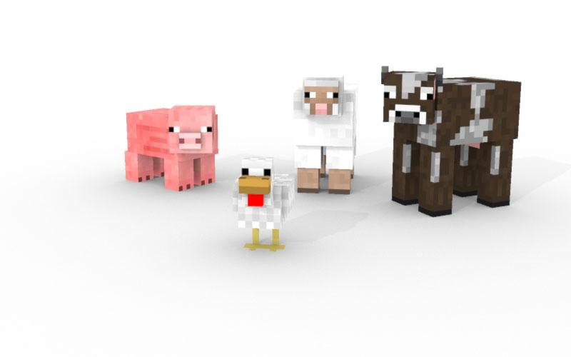 Minecraft Passive Mobs | www.pixshark.com - Images ...