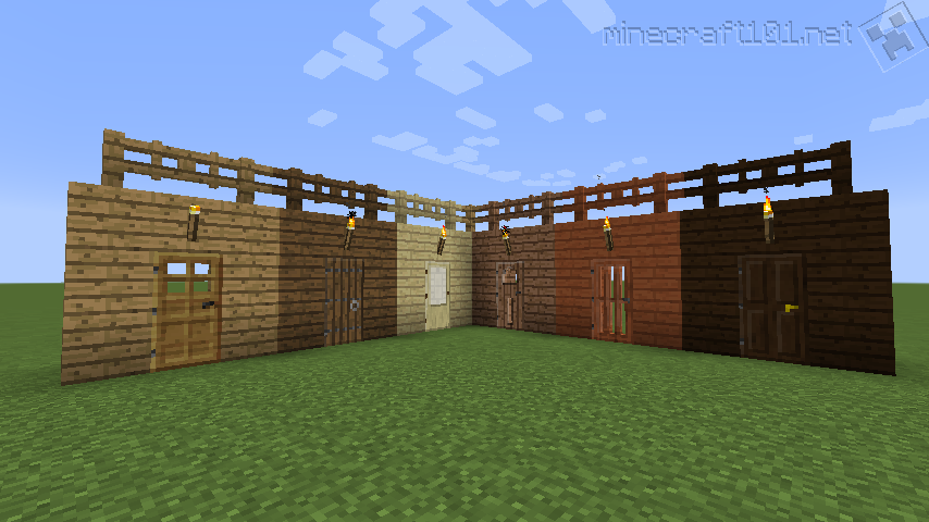 how to make a fence in minecraft pc