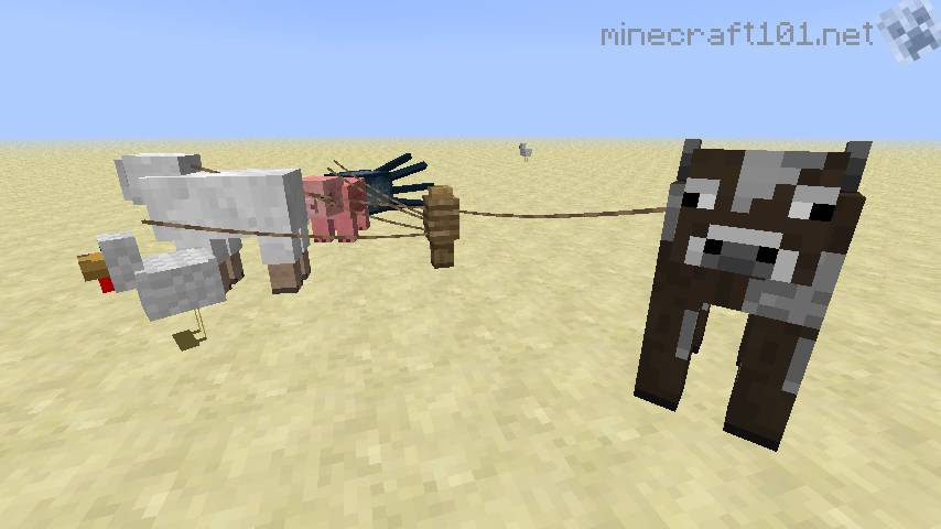 Minecraft How To Craft A Leash