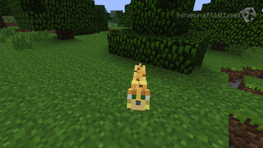 Ocelots Minecraft And the ocelot will slowly