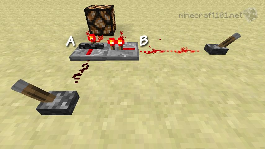 Redstone Repeater And Comparators Minecraft 101 - 2 Way Switch Minecraft