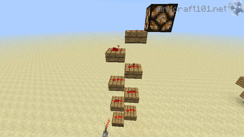 How To Build A Half Slab In Minecraft