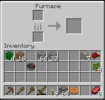 minecraft furnace interface