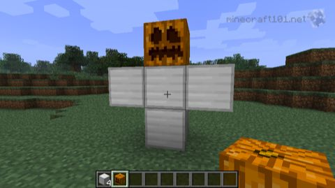 Iron Golem construction