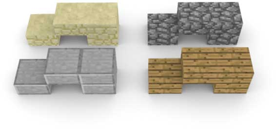 Slabs, Stairs and Fences | Minecraft 101