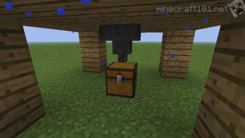 How to make a Minecart with Hopper in Minecraft