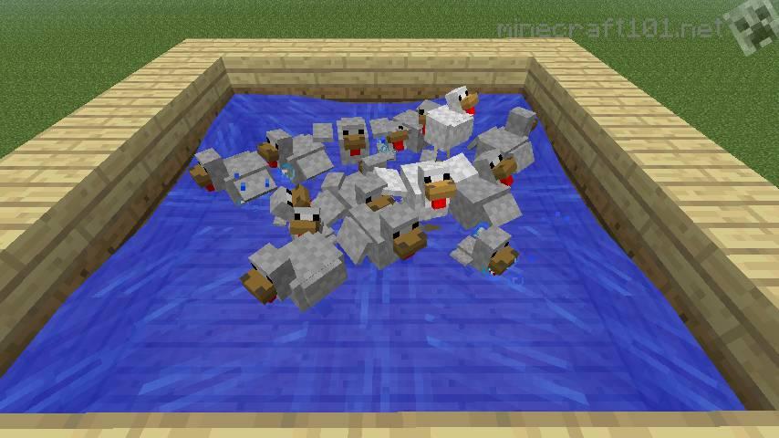 Improved Chicken Farm Minecraft 101