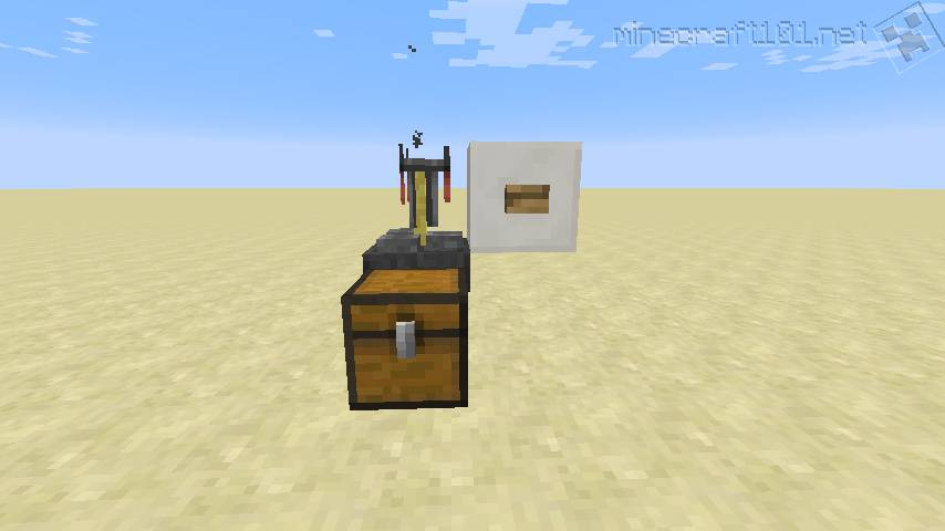 minecraft brewing stand recipe