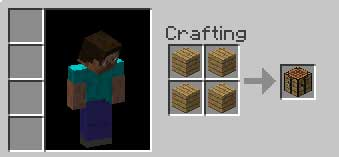 craft a Crafting Table