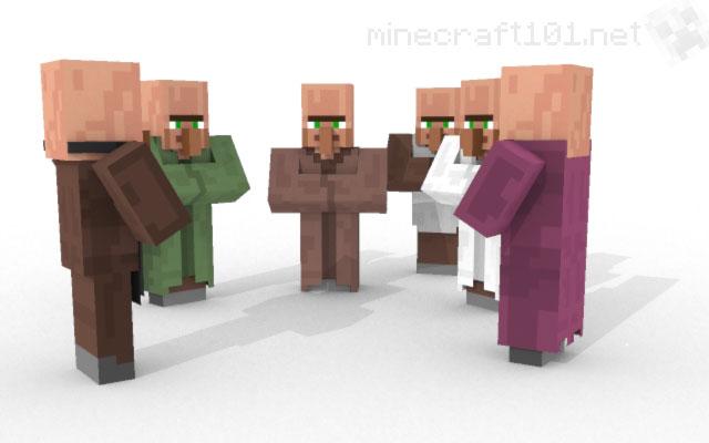 วิธีการแลกเปลี่ยนกับชาวบ้านใน Minecraft